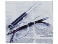 Brillen-Pflege - Brillenputztuch - Zeitung