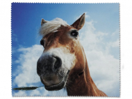 Brillen-Pflege - Brillenputztuch - Pferd