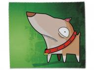 Brillen-Pflege - Brillenputztuch - Hund