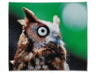 Brillen-Pflege - Brillenputztuch - Eule