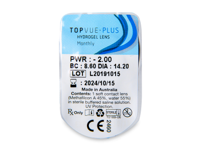 TopVue Plus (6 Linsen) - Blister Vorschau