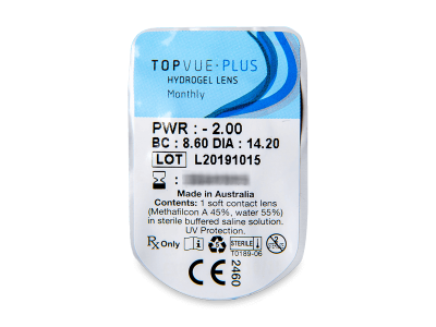 TopVue Plus (1Linse) - Blister Vorschau