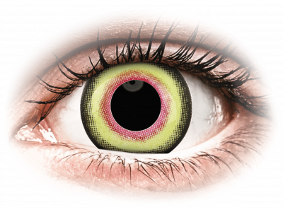 ColourVUE Crazy Lens - Mad Hatter - Tageslinsen ohne Stärken (2Linsen)