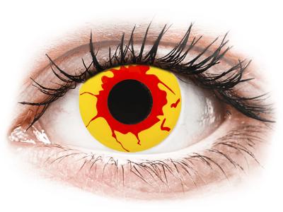 ColourVUE Crazy Lens - Reignfire - Tageslinsen ohne Stärken (2Linsen)