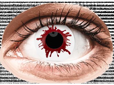 ColourVUE Crazy Lens - Wild Blood - Tageslinsen ohne Stärken (2Linsen)