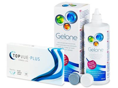 TopVue Plus (6 Linsen) + Gelone 360 ml - Älteres Design