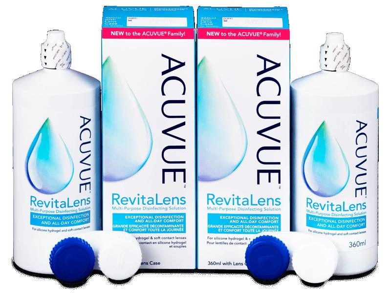 Pflegemittel Acuvue RevitaLens 2x 360 ml  - Pflegelösung – günstigeres Duo Pack