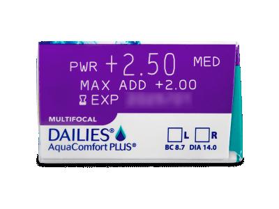 Dailies AquaComfort Plus Multifocal (90Linsen) - Vorschau