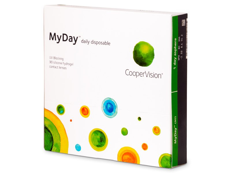 MyDay daily disposable (90Linsen) - Tageslinsen