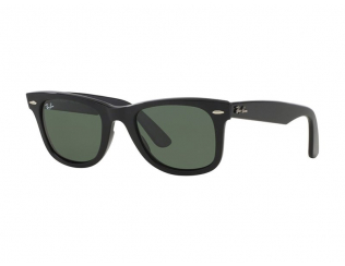 Wayfarer Sonnenbrillen - Sonnenbrille Ray-Ban Original Wayfarer RB2140 - 901