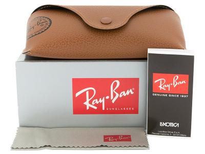 Sonnenbrille Ray-Ban Original Wayfarer RB2140 - 902/57  - Inhalt der Packung (Illustrationsbild)