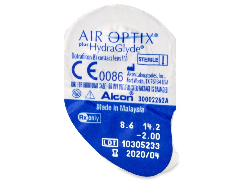 Air Optix plus HydraGlyde (6 Linsen) - Blister Vorschau