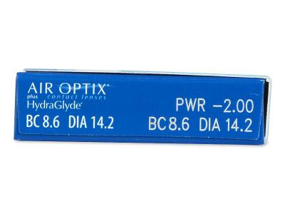 Air Optix plus HydraGlyde (3 Linsen) - Vorschau