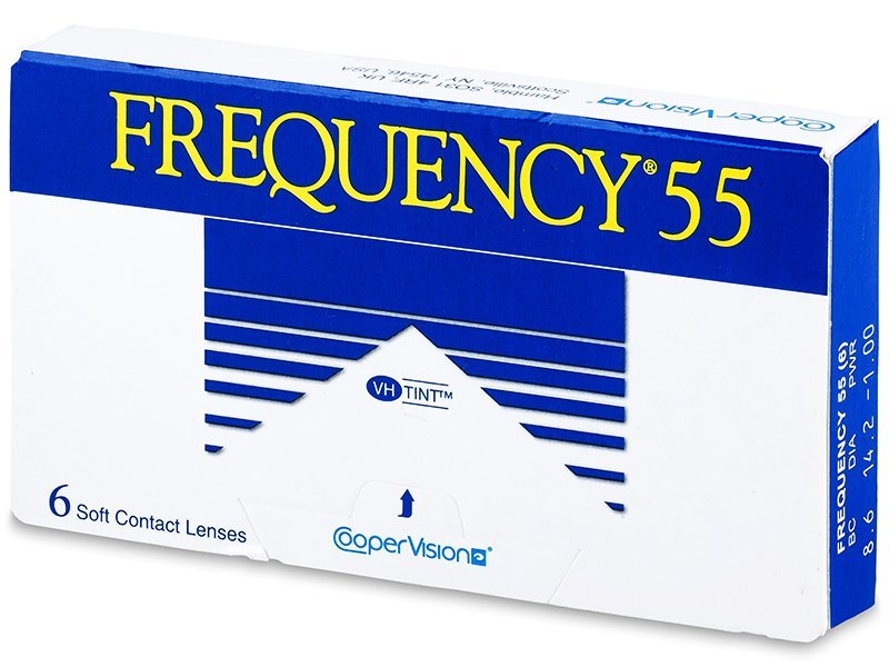 Frequency 55 (6Linsen) - Monatslinsen