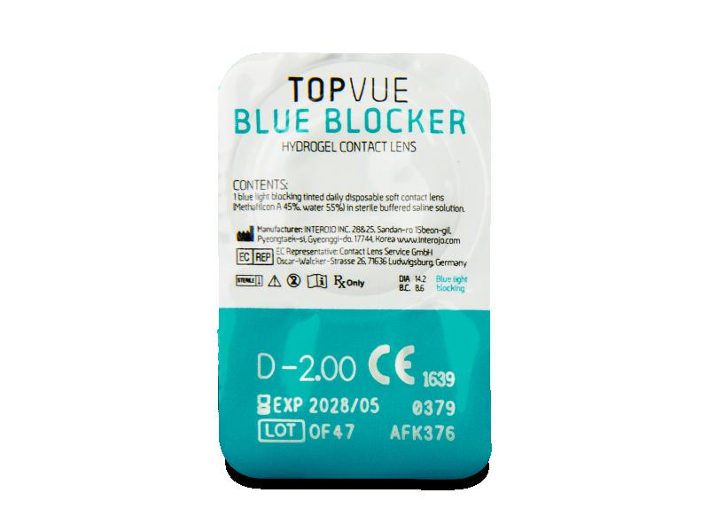 TopVue Blue Blocker (5 Paare) - Blister Vorschau