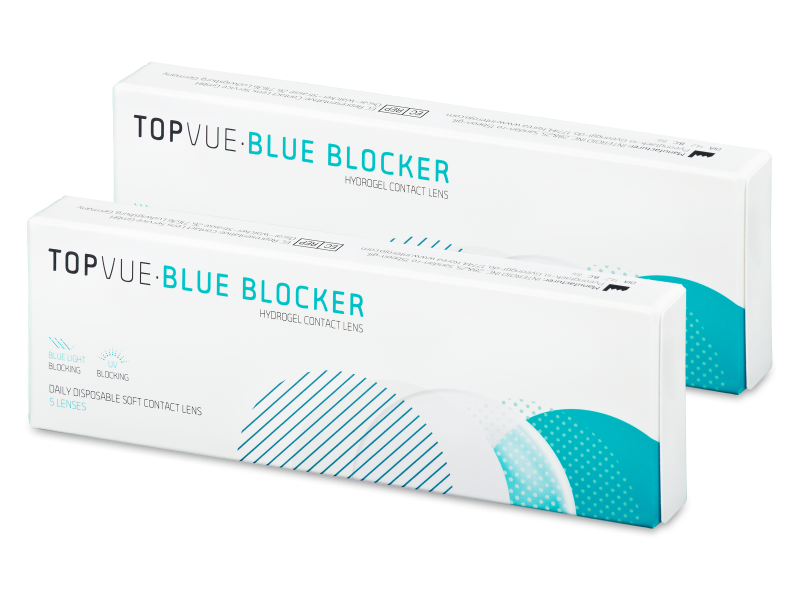 TopVue Blue Blocker (5 Paare) - Tageslinsen