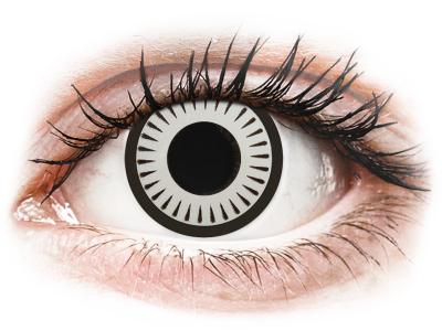 CRAZY LENS - Byakugan - Tageslinsen mit Stärke (2 Linsen)
