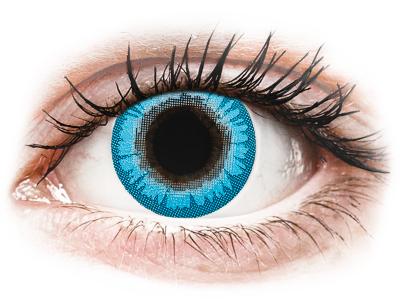 CRAZY LENS - White Walker - Tageslinsen ohne Stärke (2 Linsen)