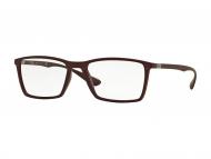 Brillenrahmen Quadratisch - Brille Ray-Ban RX7049 - 5523