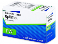Kontaktlinsen Bausch and Lomb - Optima FW (4 Linsen)