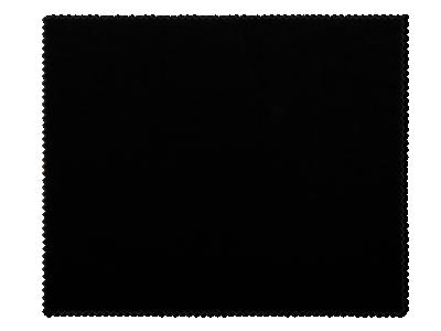 Brillenreinigungstuch - Schwarz