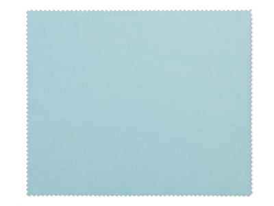 Brillenreinigungstuch - Hellblau