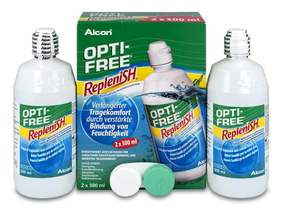 OPTI-FREE RepleniSH 2 x 300 ml  - Älteres Design
