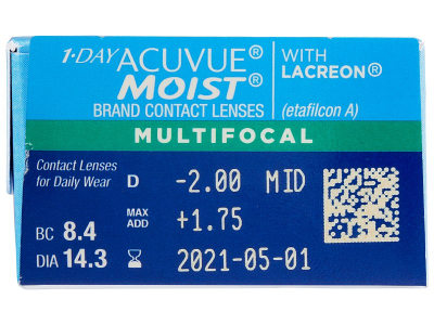 1 Day Acuvue Moist Multifocal (30 Linsen) - Vorschau