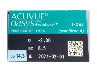 Acuvue Oasys 1-Day with Hydraluxe (30 Linsen) - Vorschau