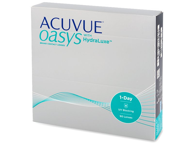 acuvue oasys 1 day with hydraluxe 90 linsen ihre. Black Bedroom Furniture Sets. Home Design Ideas