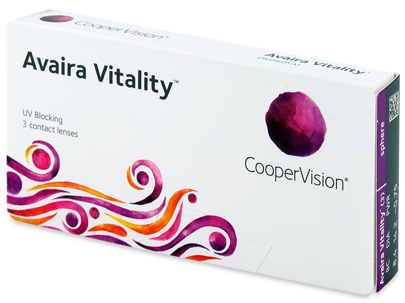 Avaira Vitality (3 Linsen) - Contact lenses