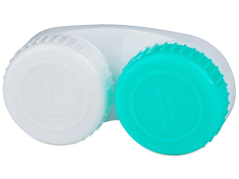 Behälter grün-weiß mit L+R