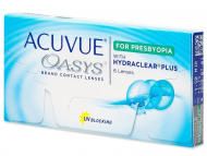 Kontaktlinsen Johnson and Johnson - Acuvue Oasys for Presbyopia (6 Linsen)