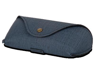 Blaues Etui für Brillen SH224-1