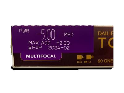Dailies TOTAL1 Multifocal (90 Linsen) - Vorschau