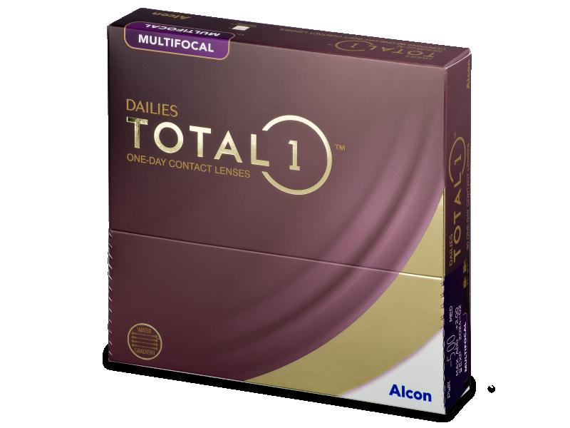 Dailies TOTAL1 Multifocal (90 Linsen) - Multifokale Kontaktlinsen