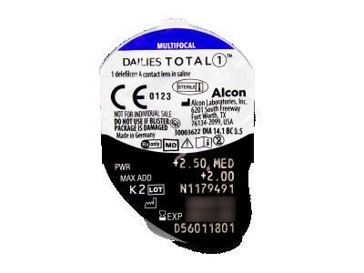 Dailies TOTAL1 Multifocal (90 Linsen) - Blister Vorschau