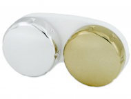 Behälter - Linsenbehälter mit Spiegeleffekt - golden