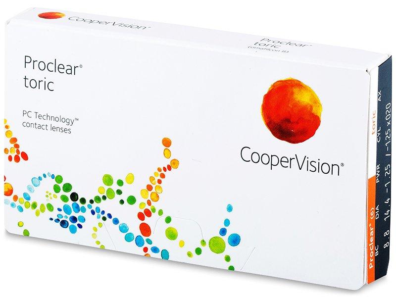 Proclear Toric (3 Linsen) - Torische Kontaktlinsen