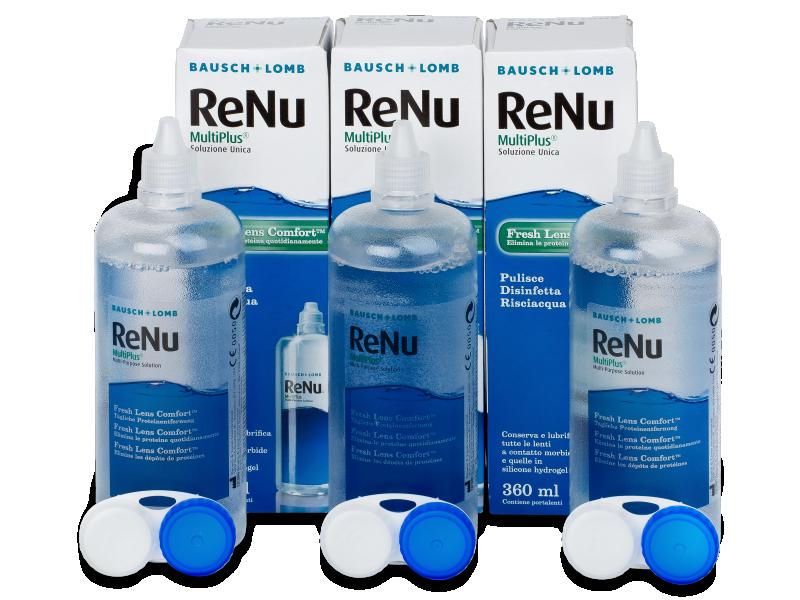 ReNu MultiPlus 3x360ml  - Reinigungslösung