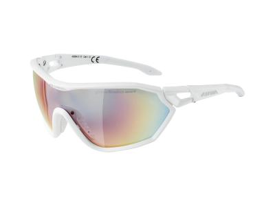 Alpina S-Way QVM+ White Matt/Quattro Varioflex Rainbow Mirror