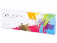 farbige Kontaktlinsen - TopVue Color Tageslinsen - mit Stärke (10Linsen)