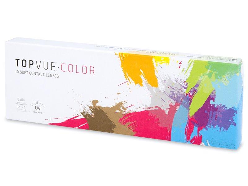 TopVue Color Tageslinsen - mit Stärke (10Linsen) - Farblinsen