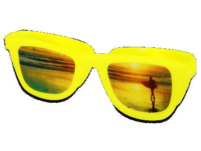 OptiShades Linsenbehälter  - gelb