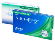 Torische (Astigmatische) Linsen - Air Optix for Astigmatism (3 Linsen)