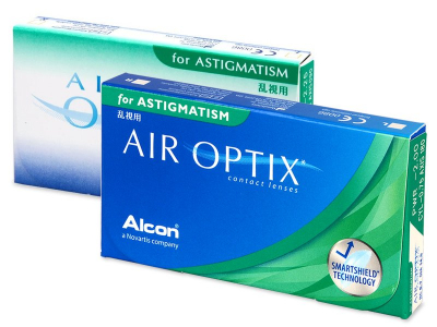Air Optix for Astigmatism (3 Linsen) - Torische Kontaktlinsen