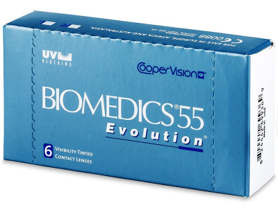 Biomedics 55 Evolution (6 Linsen) - Älteres Design