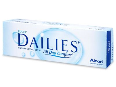 Focus Dailies All Day Comfort (30 Linsen) - Tageslinsen