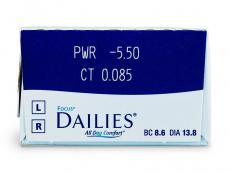 Focus Dailies All Day Comfort (30Linsen)