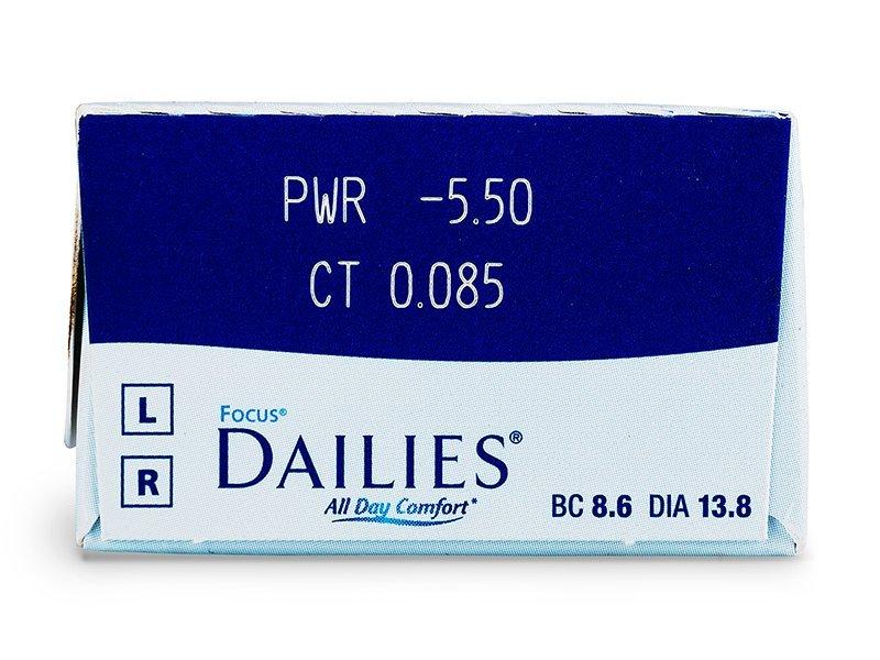 Focus Dailies All Day Comfort (30Linsen) - Vorschau
